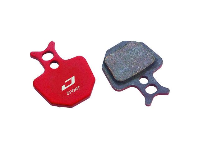 Jagwire Mountain Sport disc remblokken formula oro rood